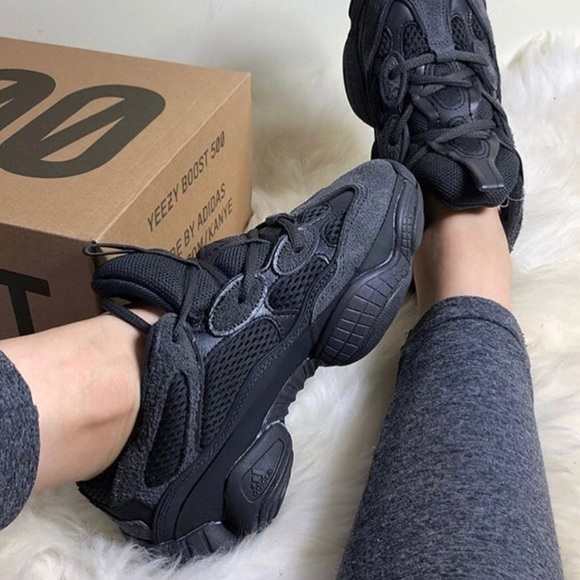 huge selection of d201a 04b1e Brand New Adidas Yeezy 500 Utility Black NWT